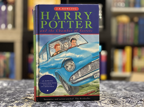 1st Edition, Later Print Harry Potter and the Chamber of Secrets