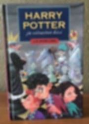 Harry Potter 1st Edition Pre-Movie Philosopher's Stone Book 1