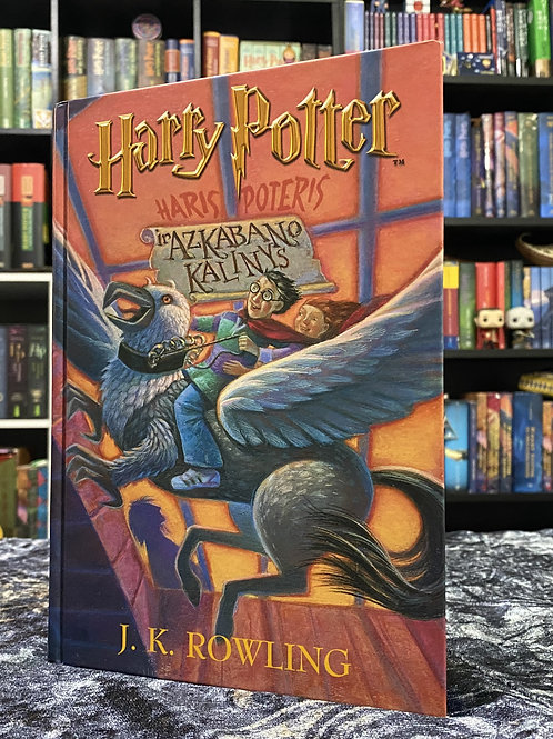 Lithuanian Translation, Harry Potter and the Prisoner of Azkaban