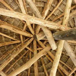 Typische Dachbauweise