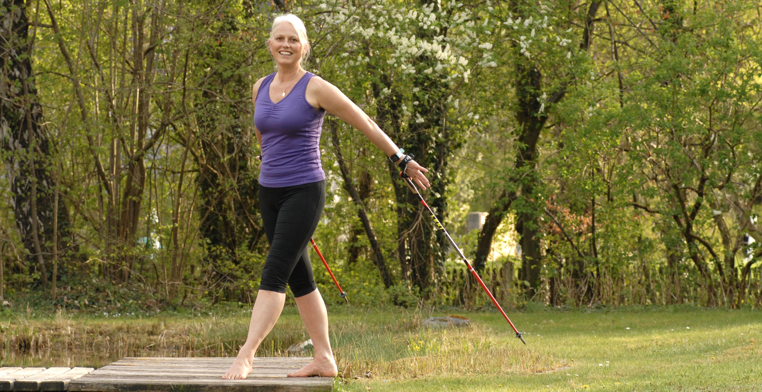 Personaltraining Nordic Walking