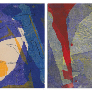 Forced Dyad (diptych)