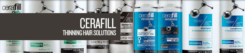 Redken - Cerafill Thinning Hair Solutions