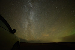 Stopping to See the Milky Way