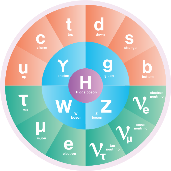 Standard Model of Particle Physics Graphic