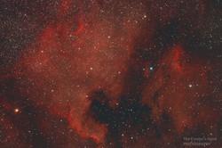 North America-Pelican Nebulae