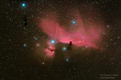 Flame-Horsehead Nebulae