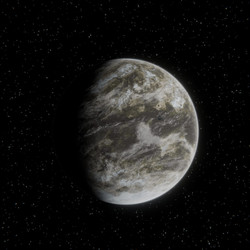 Acidic Exoplanet (Procedurally Generated)