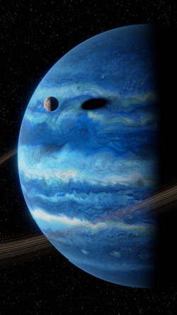 Gas Giant Exoplanet (Procedurally Generated)