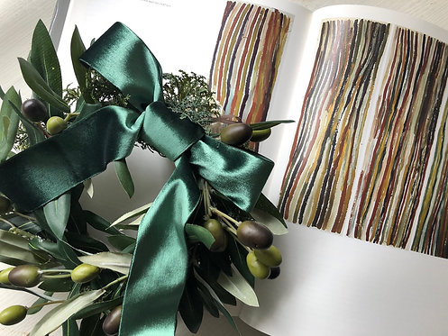 Olive wreath(artificial flower )