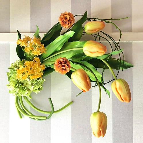 Tulip swag(artificial flower )
