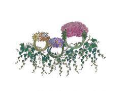 Flower ring for DIAVANTE