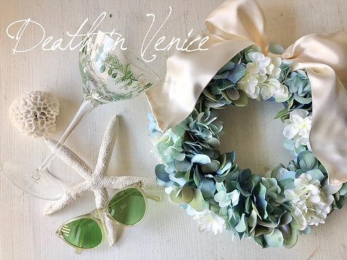 Hydrangea wreath (artificial flower )