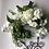 Thumbnail: White and green swag (artificial flower )