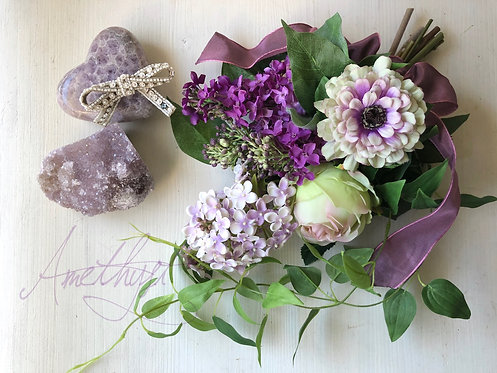 Lilac swag (artificial flower )