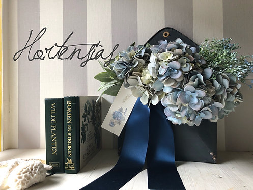 Hydrangea wall decoration (artificial flower )