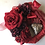Thumbnail: Red wreat with miragro (artificial flower )