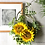 Thumbnail: Sunflower wreath(artificial flower )