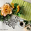 Thumbnail: Orange rose wreath (artificial flower )