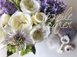 purple arrange