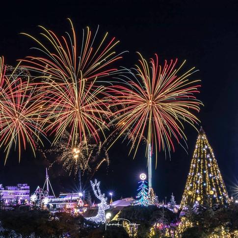 Nouvel an, Le Barcarès, 2019