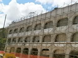 Auxílio em grandes fachadas
