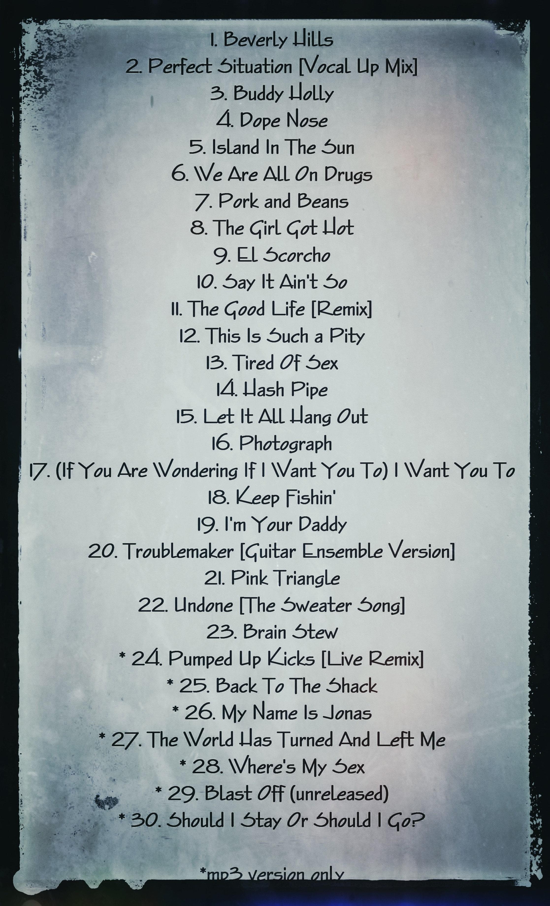 Weezer Ultra Hits | vicious-circle-cdod
