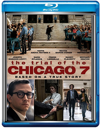 The Trial Of the Chicago 7 [Blu-ray, 2020]