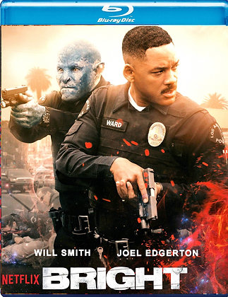 BRIGHT [Blu-ray] Will Smith Action/Sci-Fi