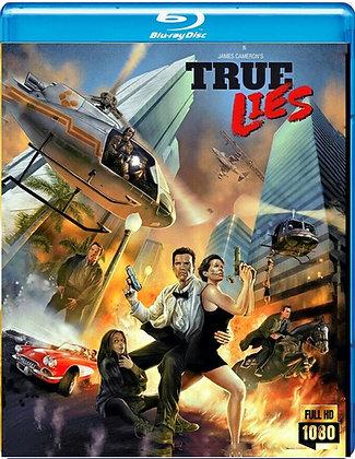 TRUE LIES [Blu-ray] HD REMASTER Arnold Schwarzenegger