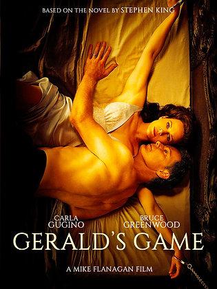 Gerald's Game Stephen King Thriller [DVD]