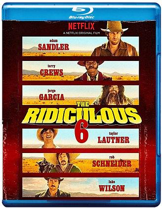 THE RIDICULOUS 6 [Blu-ray] Adam Sandler  Comedy