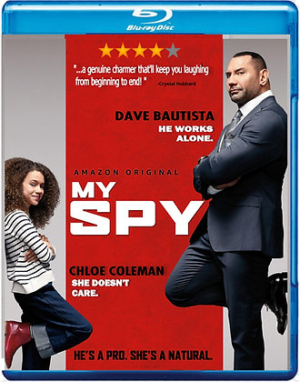 My Spy [2020 Blu-ray] Dave Bautista Action Comedy