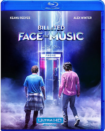 BILL & TED FACE THE MUSIC [Blu-ray, 2020]