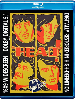 HEAD [Blu-ray] REMASTERED IN HD- The Monkees