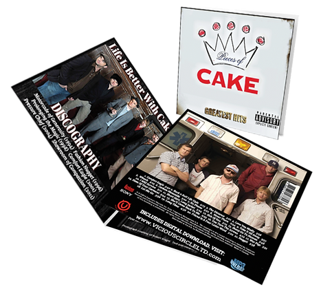 Cake Pieces of Cake: Greatest Hits [Best Of Cake] 2015