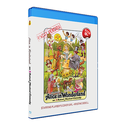 Alice In Wonderland 1976 Blu Ray cover front view