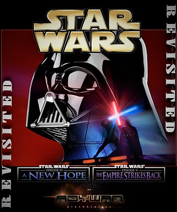 Star Wars New Hope/Empire Strikes Back Revisited Adywan Versions [Blu-ray]