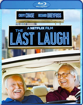 The Last Laugh [2019 Blu-ray] Chevy Chase Richard Dreyfuss