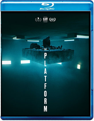The Platform aka El Hoyo (2020-Blu-ray) [Sci-Fi/Thriller]
