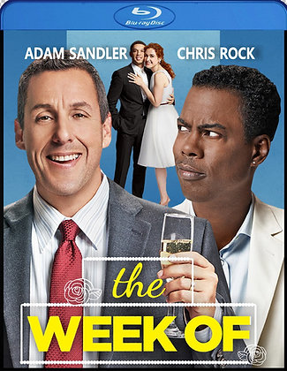 The Week Of [2019 Blu-ray] Adam Sandler  Chris Rock