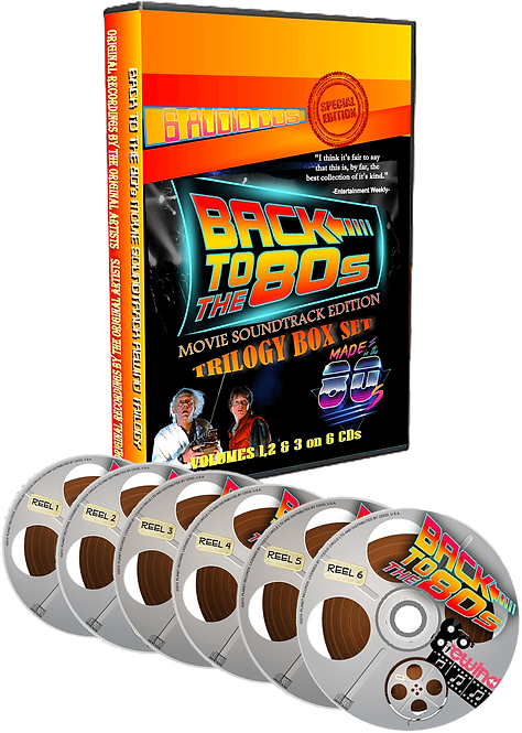 Back To the 80's Movie Soundtrack 6 DISC BOX SET!