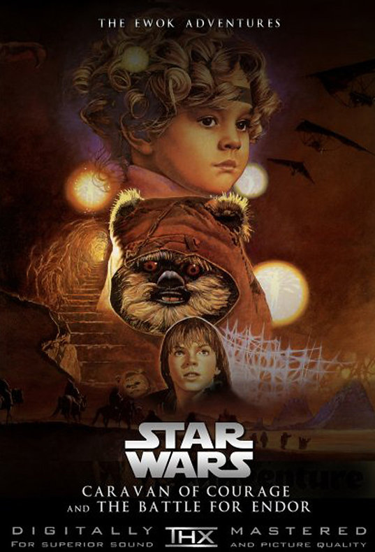 The Ewok Adventures DVD
