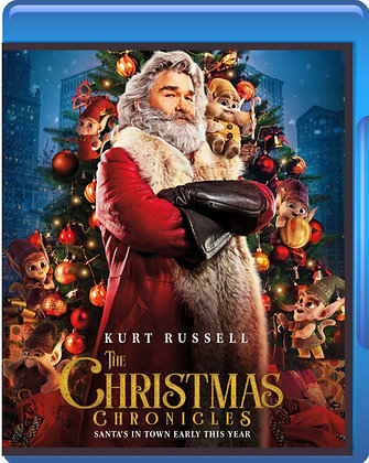 The Christmas Chronicles (2018, Blu-ray) Kurt Russell