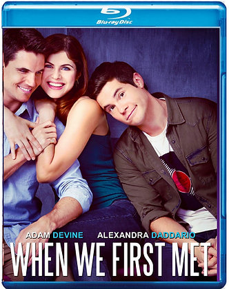 When We First Met [Blu-ray] Time Travel Rom-Com