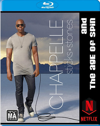 Blu-Ray cover image for Dave Chappelle- Sticks & Stones