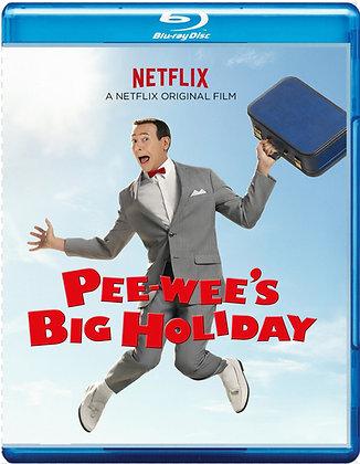 PEE WEE'S BIG HOLIDAY [Blu-ray, Comedy]