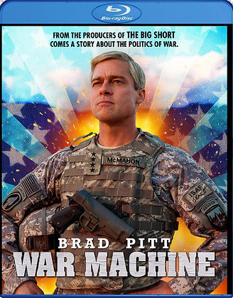 War Machine [Blu-ray] Brad Pitt Comedy
