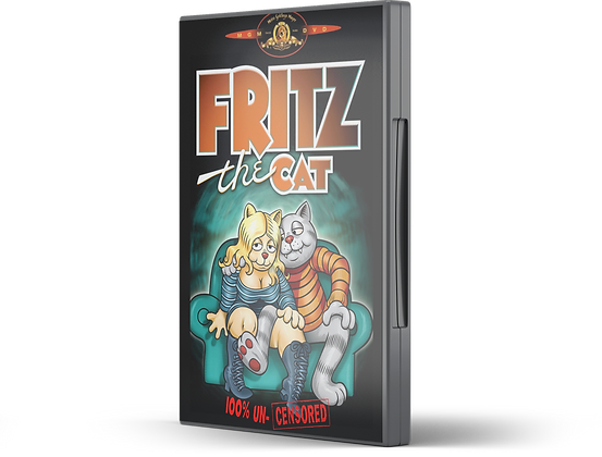 Fritz the Cat Front DVD Image