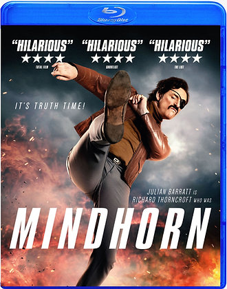 MINDHORN [Blu-ray] U.K. Comedy  (Region A,B & C)